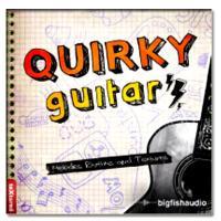 خرید اینترتی بیت برپایه گیتار Big Fish Audio Quirky Guitars vol. 1