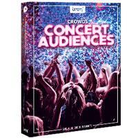 جلوه صوتی صدای کنسرت و تشویق Boom Library Crowds Concert Audiences