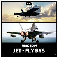 جلوه صوتی صدای موتور جت هواپیما Boom Library Jet Fly Bys