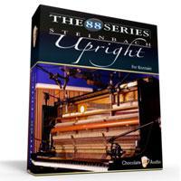 خرید اینترتی وی اس تی پیانو دیواری Chocolate Audio The 88 Series Pianos Steinbach Upright