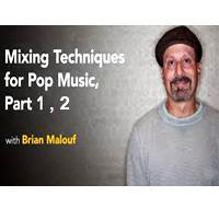 خرید اینترتی آموزش میکس سبک پاپ LYNDA Mixing Techniques for Pop Music