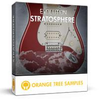 وی اس تی گیتار الکتریک Orange Tree Samples Evolution Electric Guitar Stratosphere