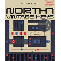 وی اس تی پیانو الکتریک با صدای وینتیج Spitfire Audio North 7 Vintage Keys