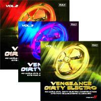 خرید اینترتی بیت و لوپ ساخت موزیک درتی الکترو Vengeance Dirty Electro Vol.1 - 3