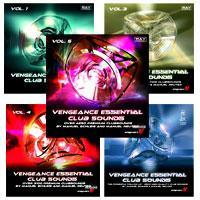 خرید اینترتی بیت و وان شات ساخت موزیک کلاب Vengeance Essential Clubsounds Vol. 1 - 5