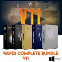 خرید اینترتی جدیدترن و کاملترین نسخه قویترین پلاگین میکس مسترینگ دنیا Waves Complete v11 2020