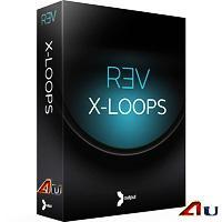 خرید اینترتی وی اس تی لوپ و ریتم الکترونیک Output Sounds REV X-Loops