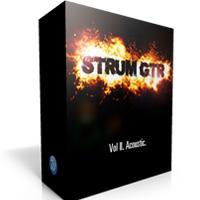 خرید اینترتی وی اس تی مضرابی گیتار آکوستیک Wavesfactory StrumGTR Vol.II Acoustic