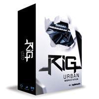 وی اس تی ساخت موزیک Urban مدرن رپ Big Fish Audio RIG Urban Workstation