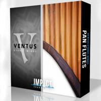 وی اس تی فلوت پن Impact Soundworks Ventus Ethnic Winds Pan Flutes