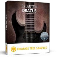 خرید اینترتی وی اس تی گیتار الکتریک 8 سیمی مناسب سبک متال و راک Orange Tree Samples Evolution Dracus