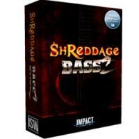 خرید اینترتی وی اس تی گیتار بیس سبک متال راک و پاپ Impact Soundworks Shreddage Bass 2
