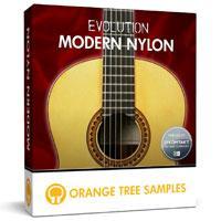 خرید اینترتی وی اس تی گیتار نایلون با سیمهای استیل Orange Tree Samples Evolution Modern Nylon