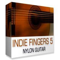 خرید اینترتی وی اس تی گیتار نایلون سبک ایندی DreamAudioTools Indie Fingers 5 Nylon