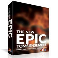 خرید اینترتی وی اس تی تام درام گروهی به شکل حماسی 8DIO The New Epic Toms Ensemble