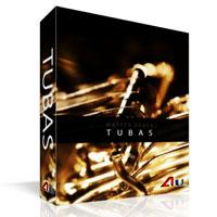 وی اس تی گروهی نوازی توبا Auddict Master Brass Tubas