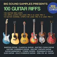 مجموعه 100 ریتم از پیش نواخته شده گیتار Big Sound Samples 100 Guitar Riffs