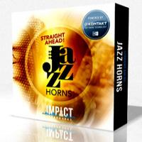 خرید اینترتی وی اس تی سازهای بادی برنجی سبک پاپ , جز Impact Soundworks Straight Ahead Jazz Horns v2.0