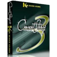 خرید اینترتی وی اس تی گروهی نوازی سازهای آرشه ای Kirk Hunter Studios Concert Strings 3