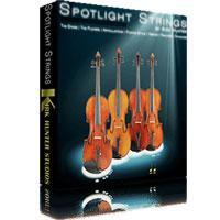 وی اس تی سازهای آرشه ای با تکیه بر ویبراتو Kirk Hunter Studios Spotlight Solo Strings