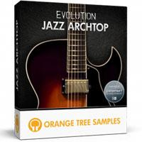 وی اس تی گیتار ارچتاپ Orange Tree Samples Evolution Jazz Archtop