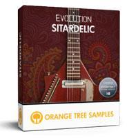 خرید اینترتی وی اس تی سی تار الکتریک Orange Tree Samples Evolution Sitardelic