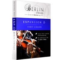 اکسپنشن D برلین استرینگ Orchestral Tools Berlin Strings EXP D First Chairs