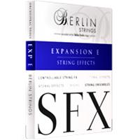 اکسپنشن E برلین استرینگ Orchestral Tools Berlin Strings EXP E SFX String Effects v1.1
