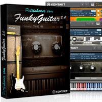 خرید اینترتی وی اس تی آکوردیک گیتار فانک Pettinhouse FunkyGuitar 2.0