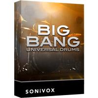 وی اس تی درام SONiVOX Big Bang Universal Drums 2 v2.3