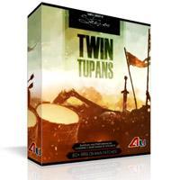وی اس تی طبل سنتی منطقه بالکان Strezov Sampling Twin Tupans