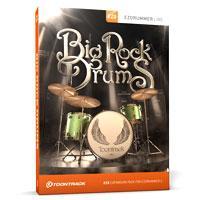 اکسپنشن سبک هارد راک برای ای زی درامر Toontrack EZX2 Big Rock Drums