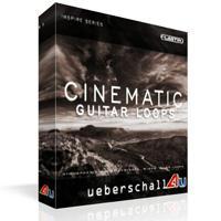 لوپ تکسچر گیتار به شکل اتمسفریک Ueberschall Cinematic Guitar Loops