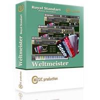 خرید اینترتی وی اس تی آکاردئون آلمانی WELTMEISTER Button Accordion Library
