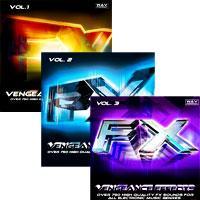 خرید اینترتی ساند افکت برای موسیقی الکترونیک Vengeance Effects Vol. 1 - 3
