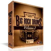 مجموعه لوپ درام برای سبک راک Hollywood Loops Big Rock Drums 1 + 2