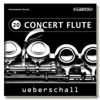 Ueberschall Concert Flute Delicate Melodic Moods ریتم و لوپ فلوت
