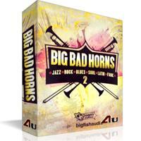 ریتم و لوپ بر پایه سازهای بادی مولتی فرمت Big Fish Audio Big Bad Horns 2