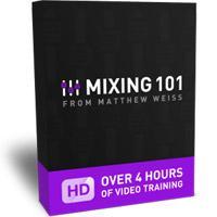 خرید اینترتی آموزش میکس سبک کلاسیک جز Mixing 101 by Matthew Weiss