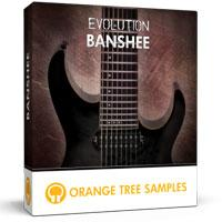 وی اس تی گیتار هوی متال Orange Tree Samples Evolution Banshee