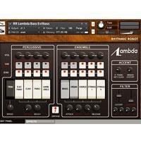 خرید اینترتی وی اس تی سینتی سایزر وینتیج کرگ لامبادا Rhythmic Robot Audio Lambda