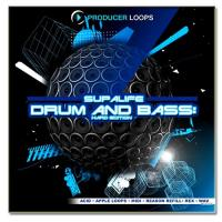 بیت و ریتم سبک DnB و الکترو Producer Loops Supalife Drum And Bass Hard Edition