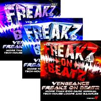 لوپ و سمپل سبک تچ هاوس Vengeance Freakz On Beatz Vol.1 - 3
