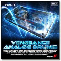 خرید اینترتی سمپل و لوپ درام آنالوگ Vengeance Analoge Drums VOL.1