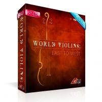 خرید اینترتی ریتم و لوپ ویولن سولو شرقی Big Fish Audio World Violins: East to West
