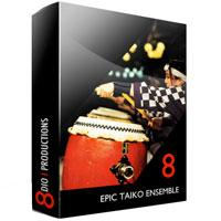 وی اس تی تایکو 8dio epic taiko ensemble