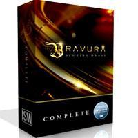 وی اس تی سازهای بادی برنجی سینماتیک Impact Soundworks Bravura Scoring Brass Complete