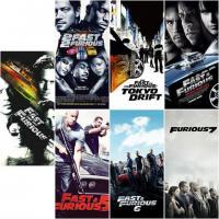 خرید اینترنتی کالکشن سریع و خشن The Fast and the Furious با کیفیت HD فقط 30/000 تومان!!!