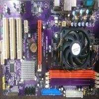 مادربورد AMD کارکرده AMD ddr2 ای سی اس ECS INFORCE6M-A