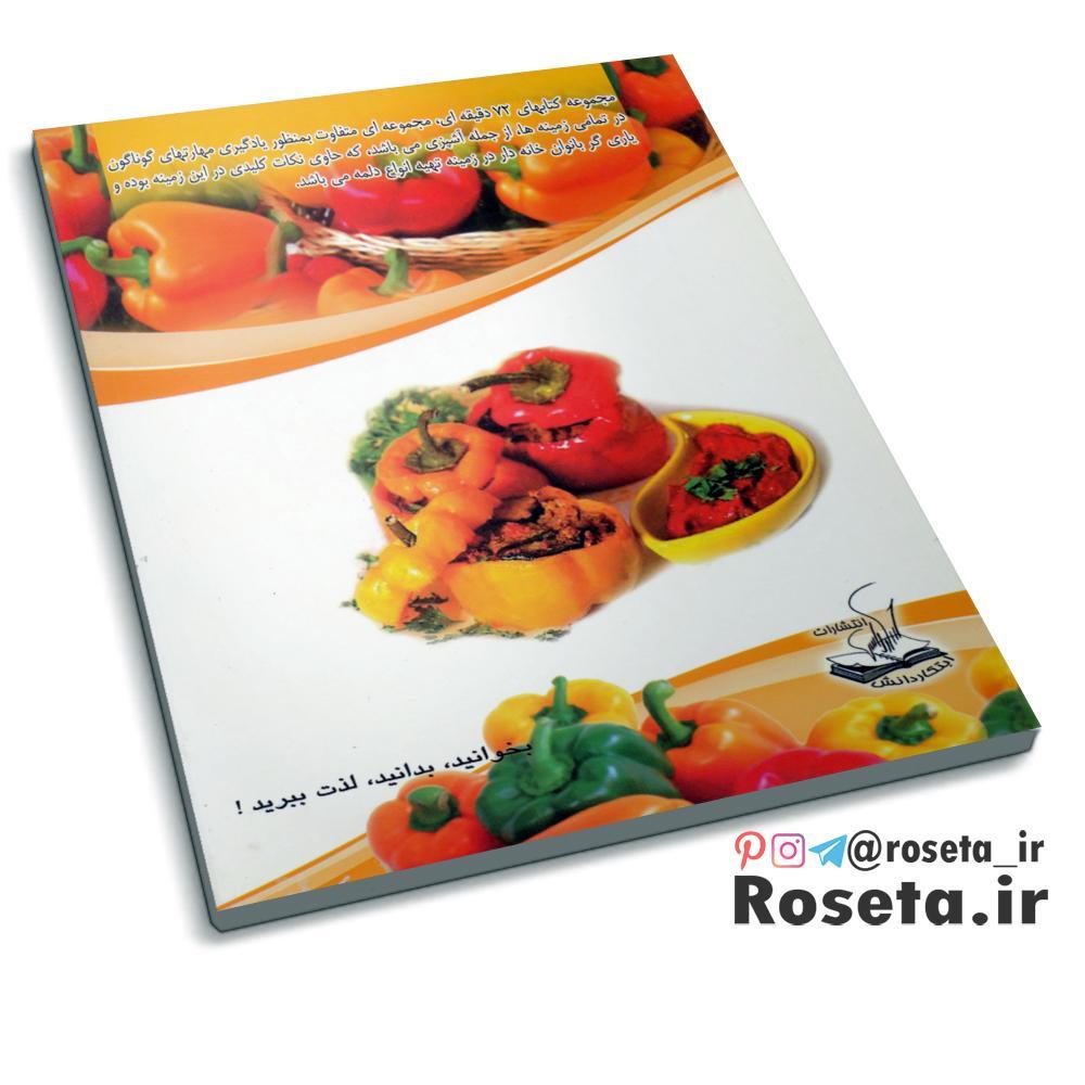 آشپزی ایرانی ، دلمه ( کتاب 72 دقیقه ای )
